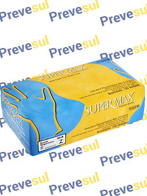 Luva de Procedimento Supermax Supremum com 100 UN