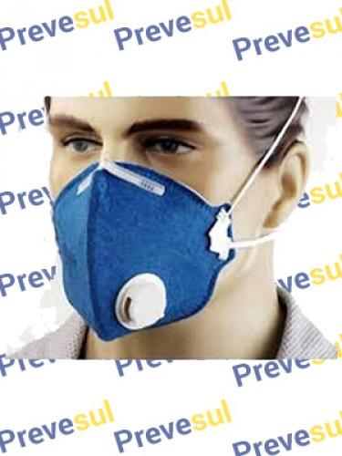 Máscara  Semi Facial PFF2  com Válvula