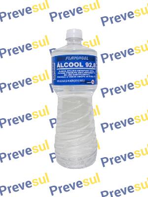 Álcool Etílico 92,8% - Caixa com 12L